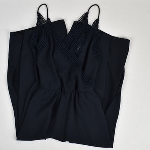 (A&F) Wide Leg Cropped Jumpsuit